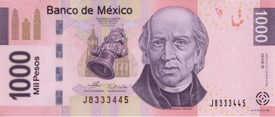 ¿cuales billetes mexicanos saldran de circulacion 6