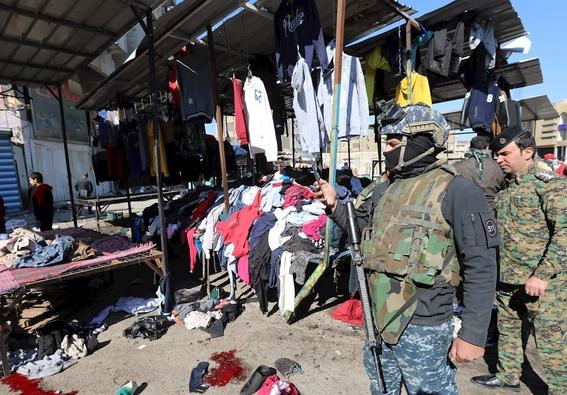 atentado suicida en mercado de bagdad causa al menos 32 muertos 1
