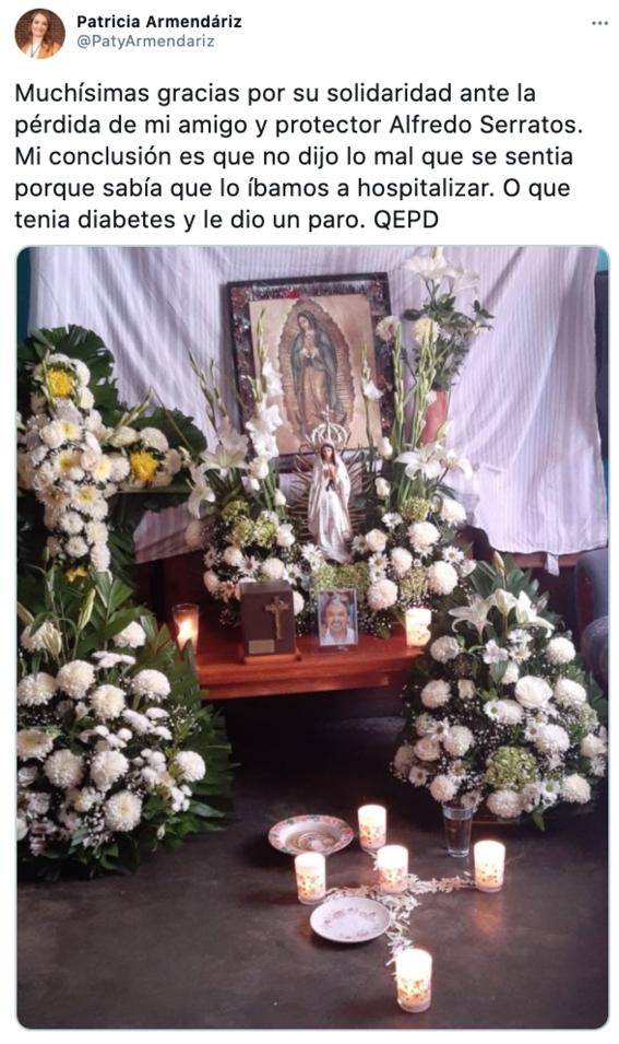 critican a patricia armendariz por tuit sobre muerte de su asistente 3