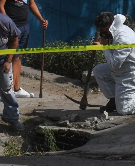 hombre que arrojo restos de una mujer en la coladera es detenido  en el edomex 2