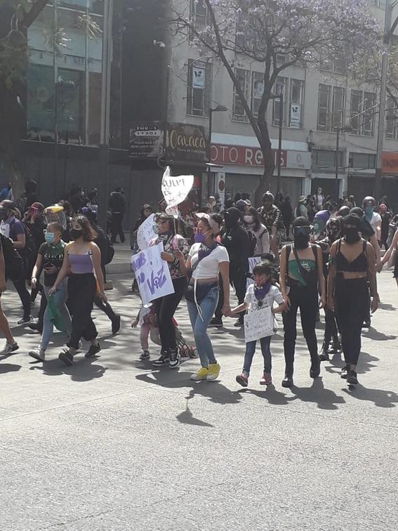 marcha manifestacion 8m dia de la mujer 28