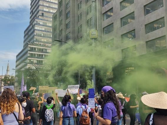marcha manifestacion 8m dia de la mujer 17