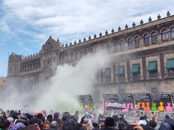marcha manifestacion 8m dia de la mujer 9