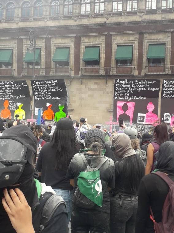 marcha manifestacion 8m dia de la mujer 10