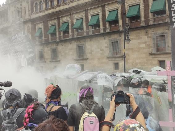 marcha manifestacion 8m dia de la mujer 8