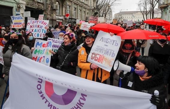 fotos asi se vive la marcha del 8m en el mundo 25