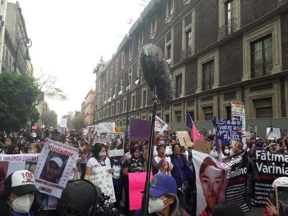 marcha manifestacion 8m dia de la mujer 6