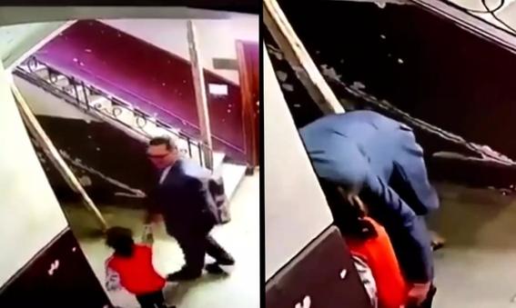 mujer salva a nina de un pedofilo gracias a una camara de vigilancia 1