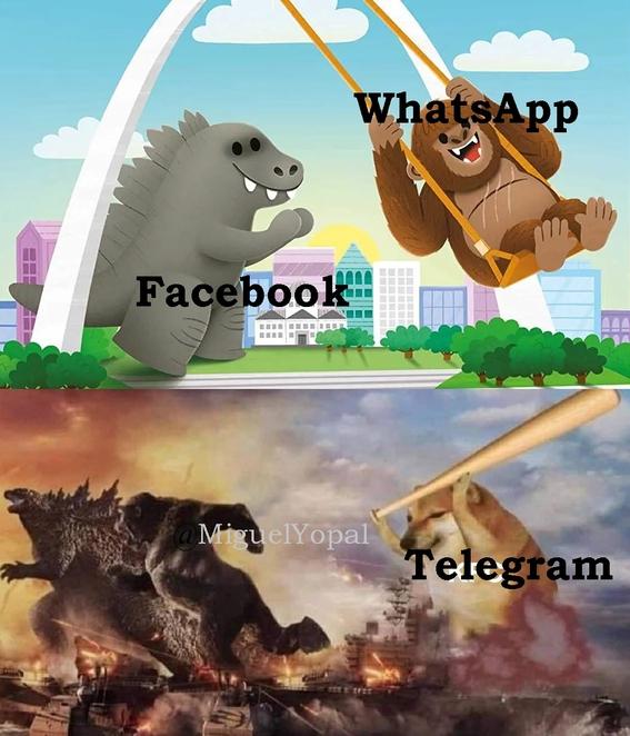 memes caida whatsapp instagram facebook 2