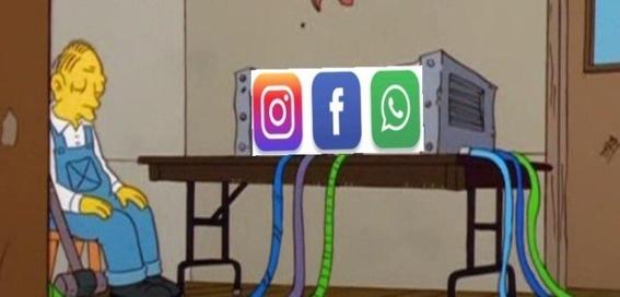 memes caida whatsapp instagram facebook 3