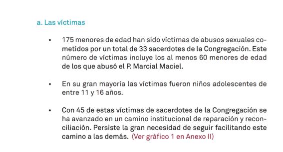 los legionarios de cristo publican casos de abusos escandalo 2