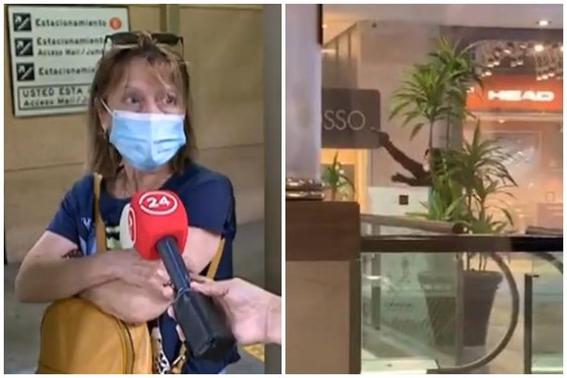 video reportan violento robo mall alto las condes chile 1