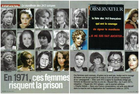 llaman zorras a mujeres que aceptaron publicamente haber abortado en francia 2