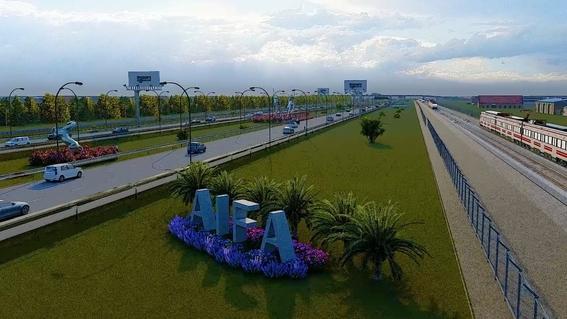 ¿cuanto costo el logo del aeropuerto internacional felipe angeles 3