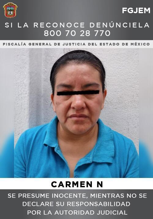carmen habria asesinado a golpes sobrina nueve anos ecatepec 1
