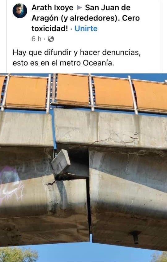 ciudadanos denuncian que pantitlan y oceania tambien corren riesgo de desplome 4