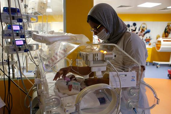 mujer da a luz a nueve bebes en marruecos 1