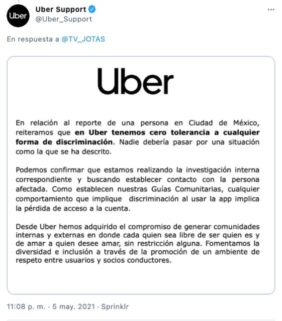 denuncian homofobia de chofer de uber que discrimino a drag queen 2