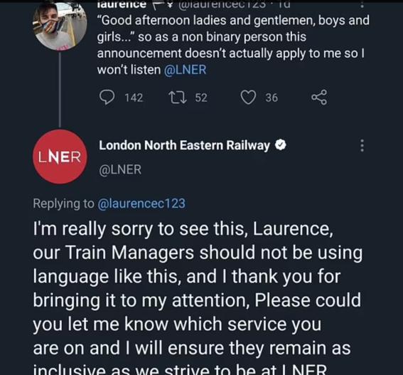 persona no binaria trenes saludo 1