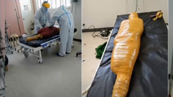momifican a victima accidente vial paciente covid filipinas 1