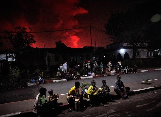 volcan nyiragongo erupcion 1