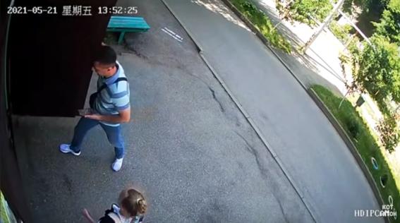 video nina escapa de pedofilo que la siguio hasta su casa 1