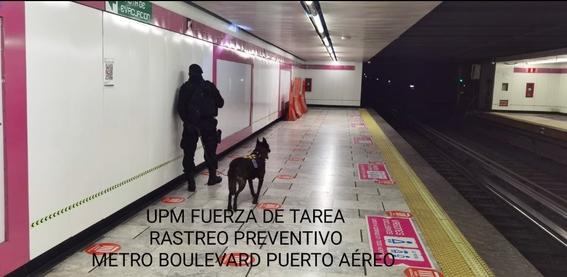 bomba metro linea 1 1