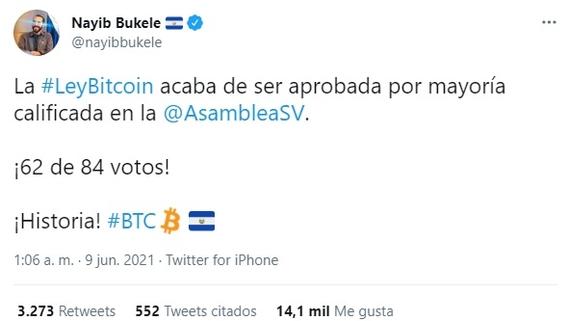el salvador se convierte en el primer pais en aporbar el bitcoin como moneda legal 2