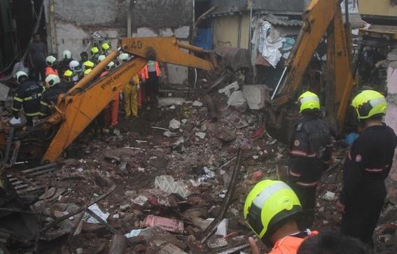 video once muertos ocho de ellos ninos tras el derrumbe de un edificio en la india 1