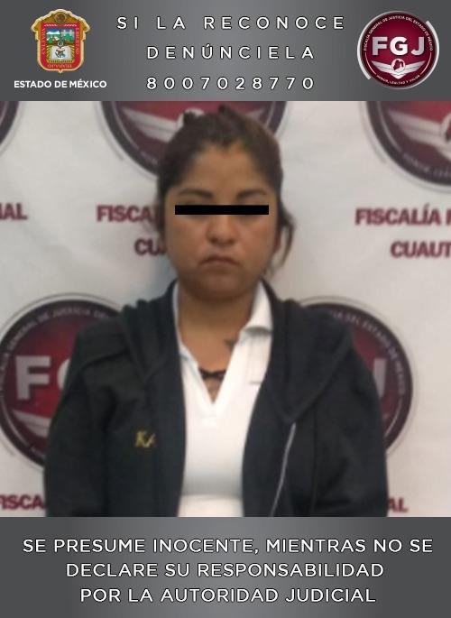 detienen mujer acusada de asesinar hijo dar solvente otro edomex 1
