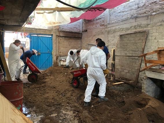 fotos encuentran restos oseos 17 personas casa feminicida serial atizapan 4