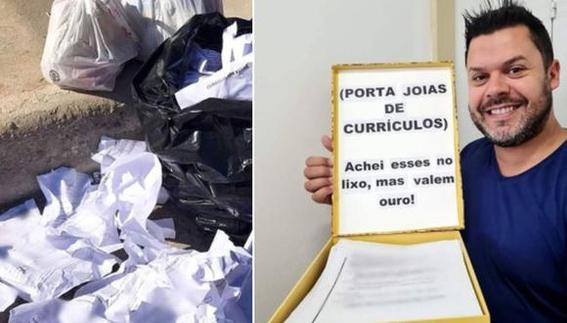 curriculums basura aspirantes empleos 2