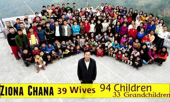 muere famoso poligamos con 39 esposas y 127 hijos y nietos 1