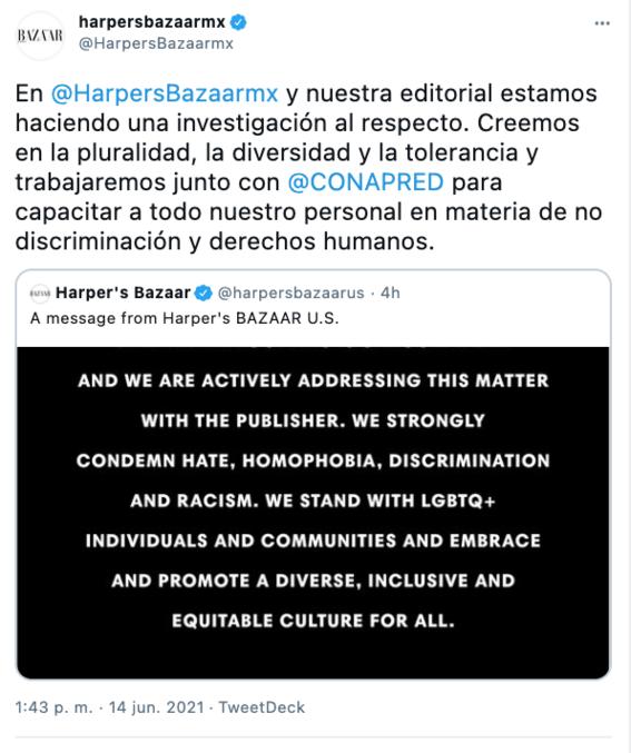 lucia alarcon editora de harpers bazaar mexico investigada por apoyar terapias de conversion 2