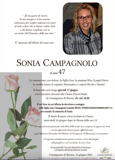 madre ayuda funeral hija sonia campagnolo invitacion cuenta 3