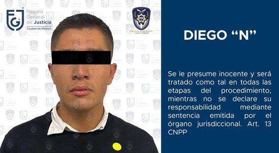 Diego Helguera es trasladado al Reclusorio Oriente por tentativa de feminicidio