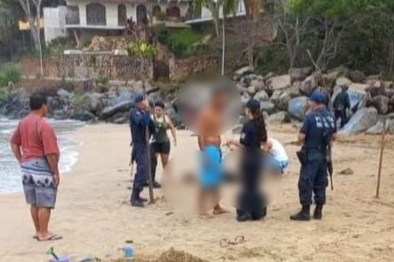 padre muere ahogado playa nayarit chacala hijo 1