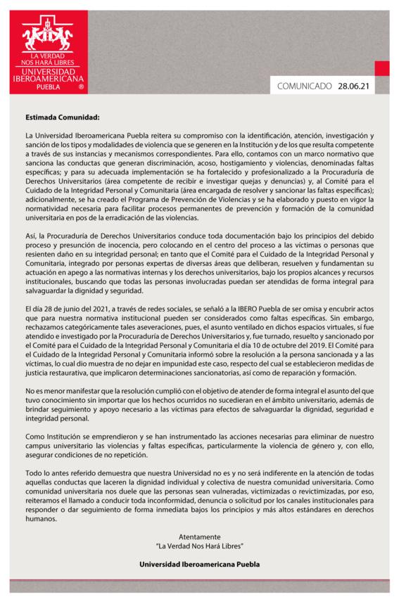 ibero gradua puebla estudiante abuso sexual 2