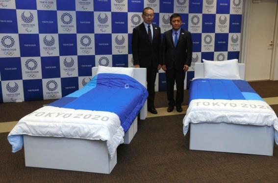 camas reciclables una iniciativa ecofriendly en la villa olimpica de tokio 1