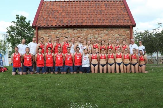 jugadoras noruega balonmano bikini uniforme 2