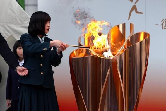 pebetero inauguracion tokio 2020 tokyo 2021 2