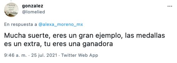 mexicanos apoyan a alexa moreno en juegos olimpicos 1