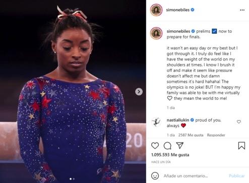 simone biles juegos olimpicos tokio 2020 gimnasia artistica 1