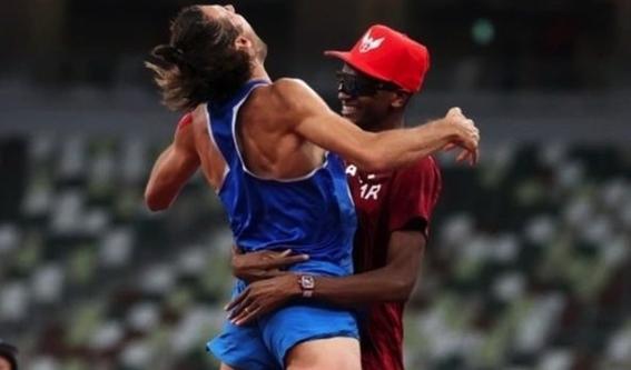 olimpicos tokio 2020 olimpicos tokio 2020 medallas salto de altura gianmarco tamberi mutaz essa barshim 1