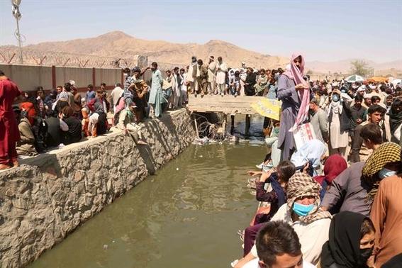 ¿como llegan los refugiados afganos a estados unidos 2
