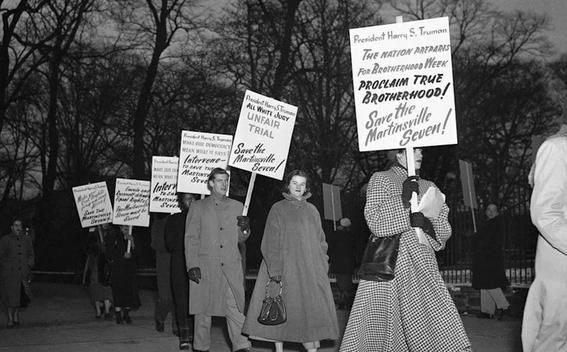 tras 71 anos otorgan perdon a siete afroamericanos ejecutados por abusar de una mujer blanca 1
