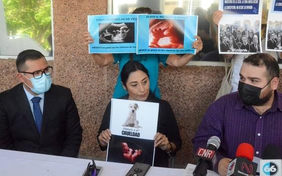 grupo provida protesta contra el lenguaje inclusivo 1