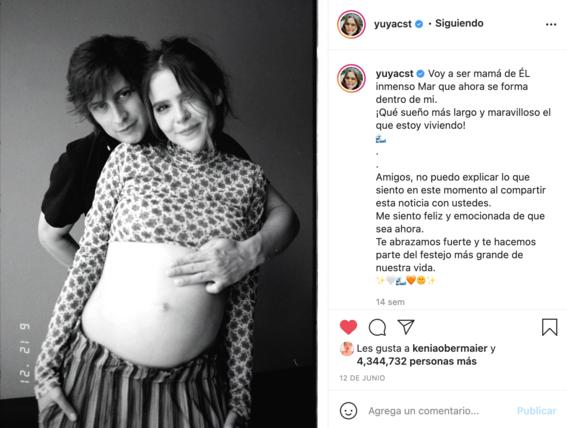 mon laferte y yuya celebran embarazos apoyando tambien el aborto legal 2