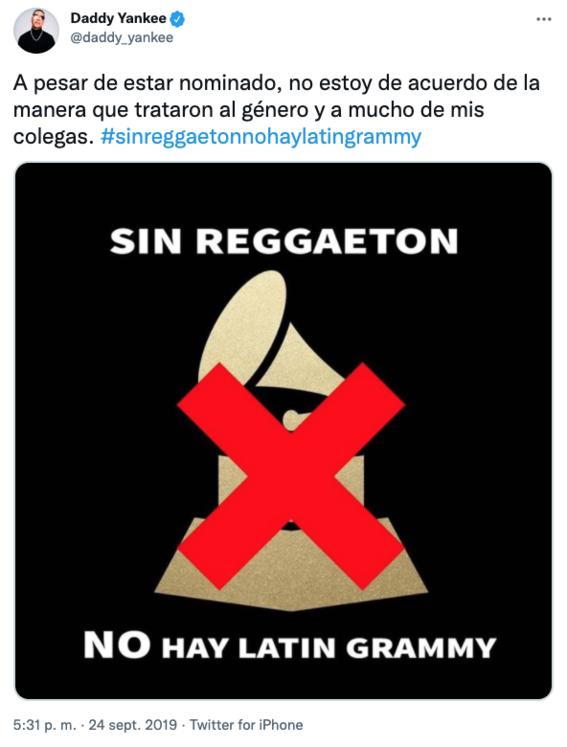 residente responde a j balvin por boicot a los grammy latino 2