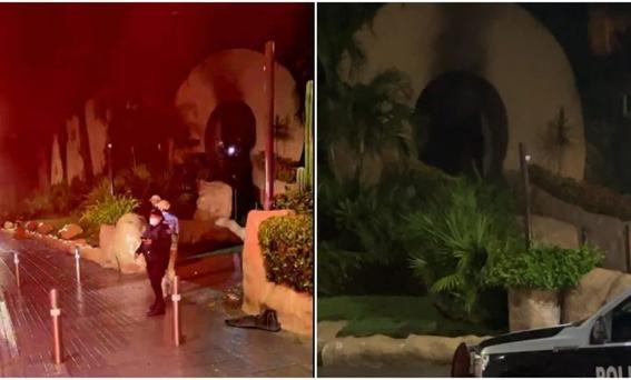 reportan incendio en la discoteca babyo en acapulco 1